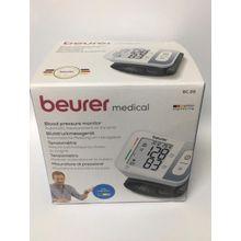 BC28 جهاز قياس ضغط الدم من المعصم -أبيض