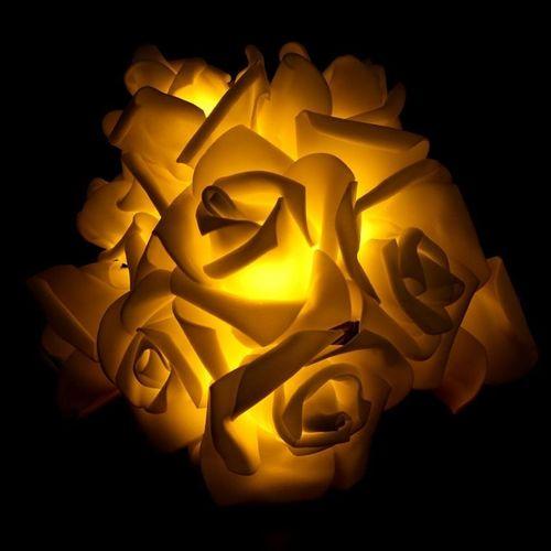 Sale On 120cm 10 Led Rose Flower String Lights Holiday Christmas