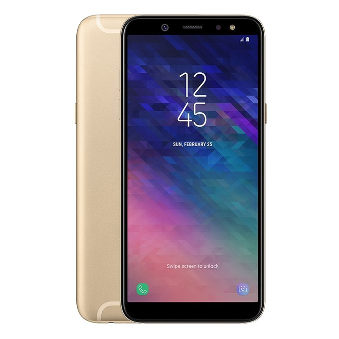 Galaxy A6 (2018) - 5.6-inch Dual SIM 32GB Mobile Phone - Gold