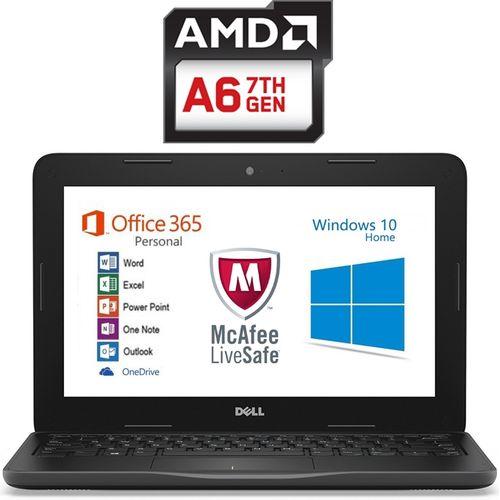 Inspiron 11-3180 Laptop - AMD A6-9220e - 4GB RAM - 32GB SSD - Intel GPU -  11 6