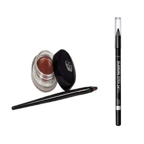 d95e4b05254 Rimmel Rimmel Scandal Eyes Waterproof Kohl - 24h + Scandal Eyes Waterproof  Gel Eyeliner - 002 Brown