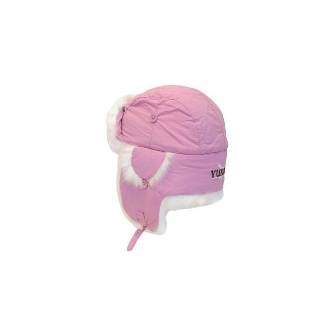 Yukon Tracks Alaskan Taslan Fur Hat [Pink, Medium]