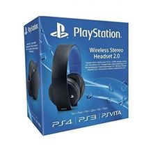 Gold Wireless Stereo Headset 2.0- PS4/PS3/PSVita - Black