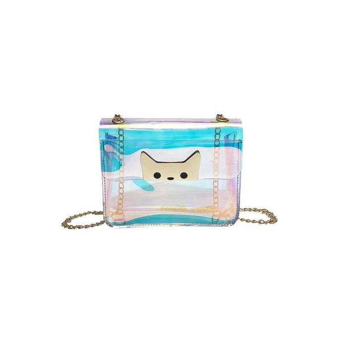 c59af1cc4b Popular Women Girl Fashion Cute Cat Candy Bag Crossbody Shoulder Bag