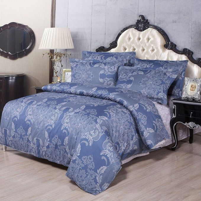 Vintage Pattern King Size Pillowcases Quilt Duvet Cover Bed Sets –  مصر