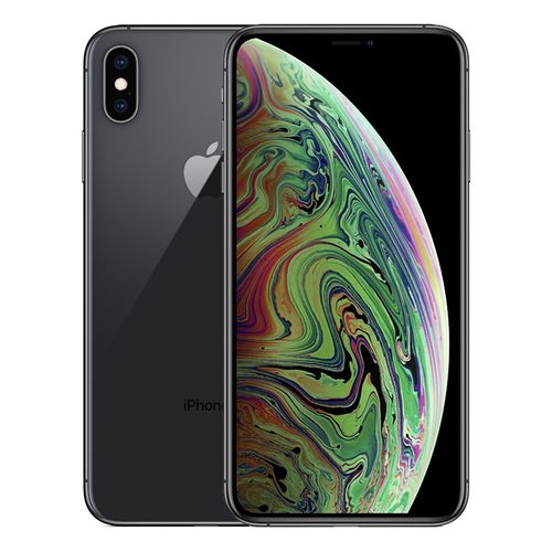 موبايل ابل ايفون اكس ماكس سعر موبايل ابل Apple آيفون XS Max - 256 جيجا موبايل رمادي